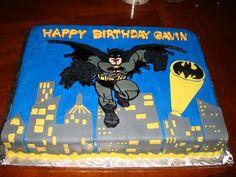 Batman Sheet Cake Boys Birthdays Pinterest Batman