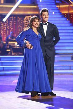 Tristan MacManus & Valerie Harper... Dancing with the Stars ... week 1...season 17...fall 2013