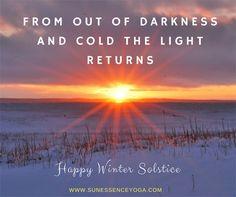 Yoga for Autumn Health — Sun Essence Yoga Winter Solstice Quotes, Happy Winter Solstice, Winter Magic, Peanuts Christmas, Winter Christmas, Pagan Yule, Samhain, Solstice And Equinox, Yoga Themes