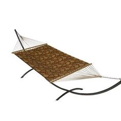 Buyers Choice Phat Tommy Sunbrella Dupione Deluxe Hammock and Base Combination Color:
