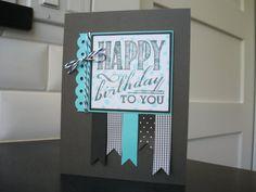 Handmade Birthday Card by apaperaffaire on Etsy
