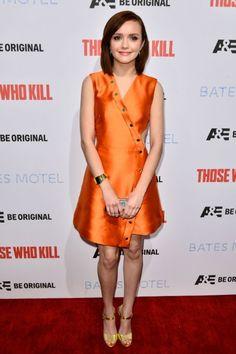 Olivia Cooke at event of Bates Motel
