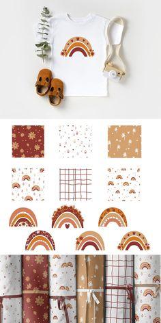 Boho, Wallpaper Backgrounds, Wallpapers, Rainbow Png, Folk Print, Paper Sunflowers, Sunflower Png, Diy Cadeau, Dinosaur Birthday Party