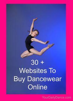 Dancewear+websites...