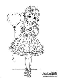 Valentine's Day Lolita by *JadeDragonne on deviantART