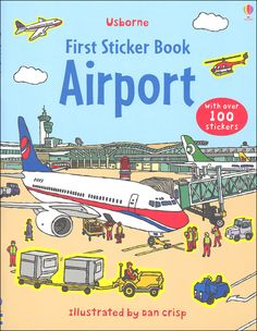 First Sticker Book - Airport | Main photo (Cover)
