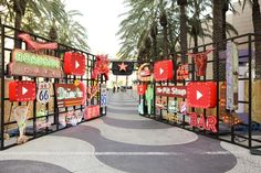 The online-video service dominated the conversation at this year's VidCon, creating five different events and activations inspired by its new original programming. Led Neon, Escape The Night, Photo Zone, Exhibition Stand Design, Entrance Gates, Gate Design, Booth Design, Experiential, Event Decor