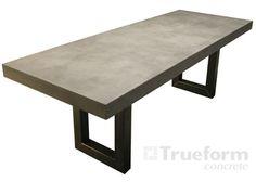 Concrete Tables & Table Tops -Trueform Concrete Custom Work