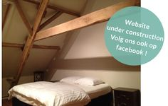 Vakantiehoeve Hanneken Tas - Kamer met oude balken in de Antwerpse noorderkempen . 3 huisjes maximaal 20 personen