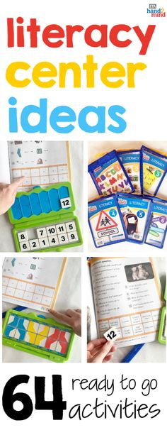 The perfect kit for practicing literacy skills in the classroom or at home!  Kids choose a skill to practice and use the tiles to complete their answers in the workbook, then immediately self check their answers.  Teachers can use this kit during language arts block in small groups, guided reading, literacy stations, and daily 5 rotations.  There are 64 activities and reading passages.  Perfect if you're looking for center ideas! This versatile kit is a fun learning resource for elementary… Literacy Stations, Literacy Skills, Literacy Centers, Spelling Activities, Literacy Activities, Daily 5 Rotation, Sentence Building, Guided Reading Groups, Making Words