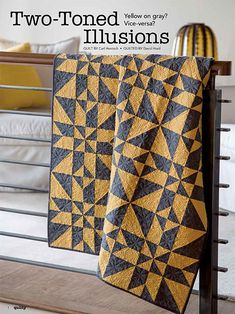 Two Toned Illusions Quilt