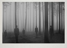 Surreal Atmospheric Photography by Martin Vlach surreal black and white