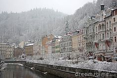Winter In Karlovy Vary
