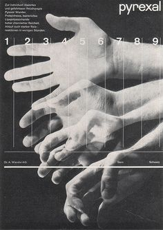 Medical journal ad for itch relief product by Herman Rastorfer, from the Graphis Annual 1959.