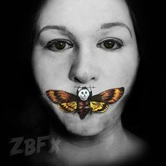 The Silence of the Lambs Cover | Community Post: 32 Jaw-Dropping Halloween Makeup Ideas