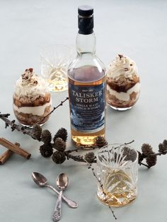 Vintertrifli med æble og whisky - Copenhagen Cakes