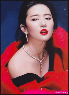 "Chinese Movie Woman ""Liu Yifei"""