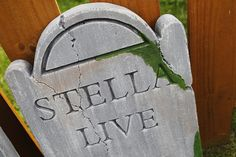 DIY tombstones: Jason Becker of Roanoke County shows you how to turn your yard into a graveyard for Halloween