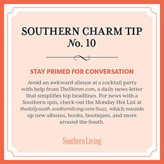 Secrets to Southern Charm? Skimm.