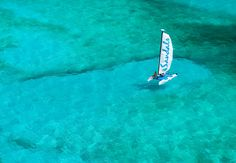 Spend the day on your own catamaran.