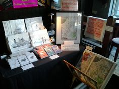 View of stall at the Crafty Fox Market, The Dogstar, Brixton on 9th December 2012