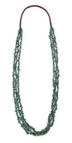 Chan Luu Multi Strand Stone Necklace