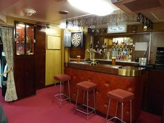 Groovy MCM lounge for the officers who served on the HMY Britannia http://www.trailheadstudios.com/blog.html
