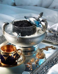 sand: Resembling a broken infinity, the ampersand reminds us that nothing truly lasts. Caviar, Champagne, Filthy Rich, Coffee Service, Black Tie Affair, Silver Spoons, V60 Coffee, Fine Dining, Luxury Lifestyle