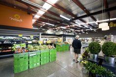 Nosh supermarket by Studio Gascoigne, Auckland Mount Eden  store design
