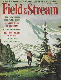vintage field and stream magazine covers - Google Search