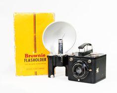 Vintage Kodak Brownie Flash Six20 Camera by BMTvintage on Etsy, $32.00