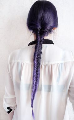 ♛ We Heart Hair♛ #prom purple hairstyles