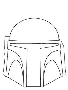 Boba Fett Helmet Template Printable Vast