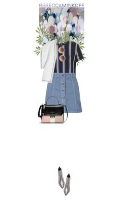 """""""Spring"""" by dancingwithyou ❤ liked on Polyvore featuring Topshop, Rebecca Minkoff, Acne Studios, Linda Farrow, women's clothing, women, female, woman, misses and juniors"""