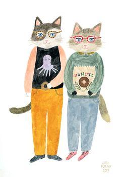 cat siblings   Aiko Fukawa