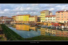 fotodilivorno60 | Flickr – Condivisione di foto! Riflessi degli Scali delle Cantine a Livorno