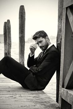 Les photos de Jamie Dornan - élu l'homme le plus sexy de 2015 - vont vous donner chaud