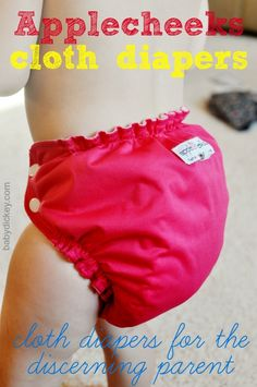 cloth diapers - Such a simple sizing system and yet it works, for us :)