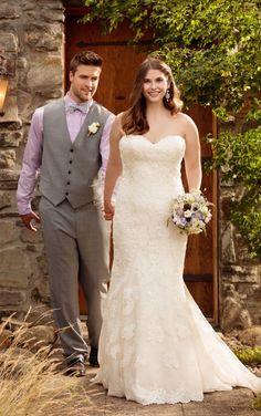 c8be0dfc89132d D1846+ Sweetheart Neckline Plus Size Wedding Dresses by Essense of  Australia Plus Size Gowns