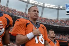 Denver Broncos QB Peyton Manning Nominated for FedEx Air Player of the Week