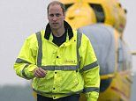 Drone almost hits Prince William's helicopter in near-miss | Daily Mail Online