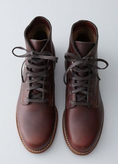 "<p>For a hike through the woods. Or, you know, a walk around the corner.</p> <p><em>100 Mile lace-up boots ($340) by Wolverine, <a href=""http://www.stevenalan.com/1000-Mile-Lace-Up-Boot/VEN_ALL_NA_VA-W05299,default,pd.html?dwvar_VEN__ALL__NA__VA-W05299_color=RUST#cgid=mens-shoes-and-accessories-shoes&start=0&hitcount=27"">stevenalan.com</a></em></p>"