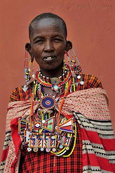 Maasai Woman from Kenya