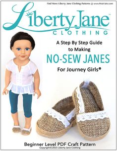 NO SEW JANES FOR JOURNEY GIRLS DOLLS