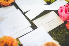 Photography: Paper Antler - paperantler.com  Read More: http://www.stylemepretty.com/2014/08/11/bright-love-in-bloom-wedding-inspiration/