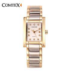 >> Click to Buy << COMTEX Watch Women Top Luxury Band Unique Design Rhinestone Dial Fashion Casual Ladies Dress Watches Quartz Wristwatch For Femal #Affiliate