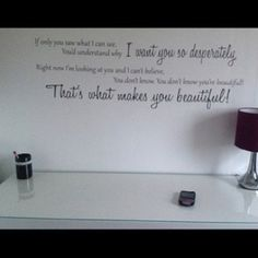 Wall art, one direction. I WANT! I REALLY, REALLY WANT THIS IN MY ROOM!!