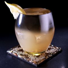 Featuring Stoli Vanilla and pear nectar, this week's cocktail is way overdue.