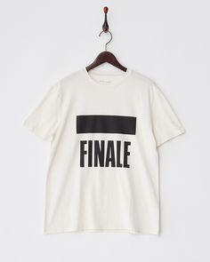 【セール】ホワイト  FINALEグラフィックTシャツ   GALLARDAGALANTE(ガリャルダガランテ)のブランド通販(セール)ならグラムール セールス