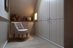 Attic | Dressing room by Luxhome
